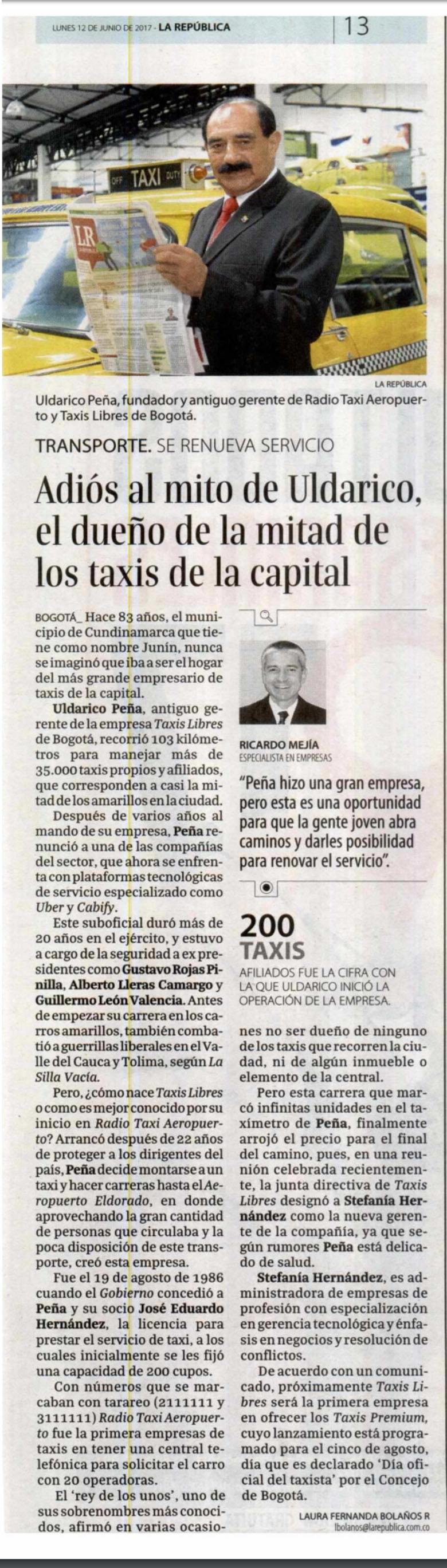 La República empresas 12 de junio