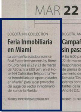 La Republica 22 de marzo
