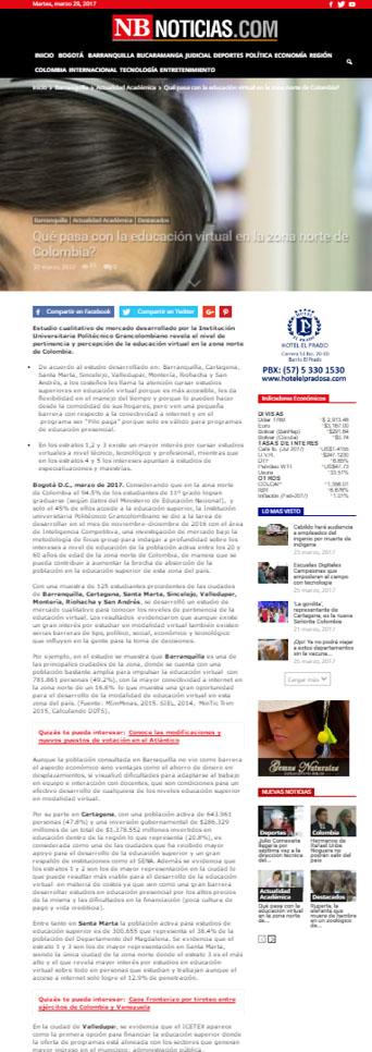 NB noticias 27 de marzo