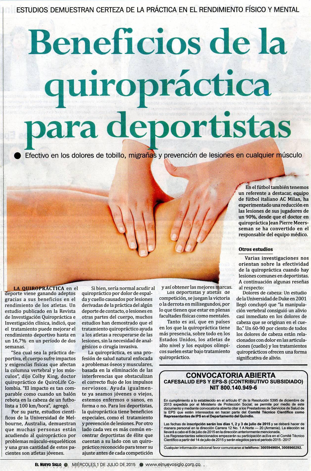 Nuevo Siglo 1 de julio 2015 [impreso]