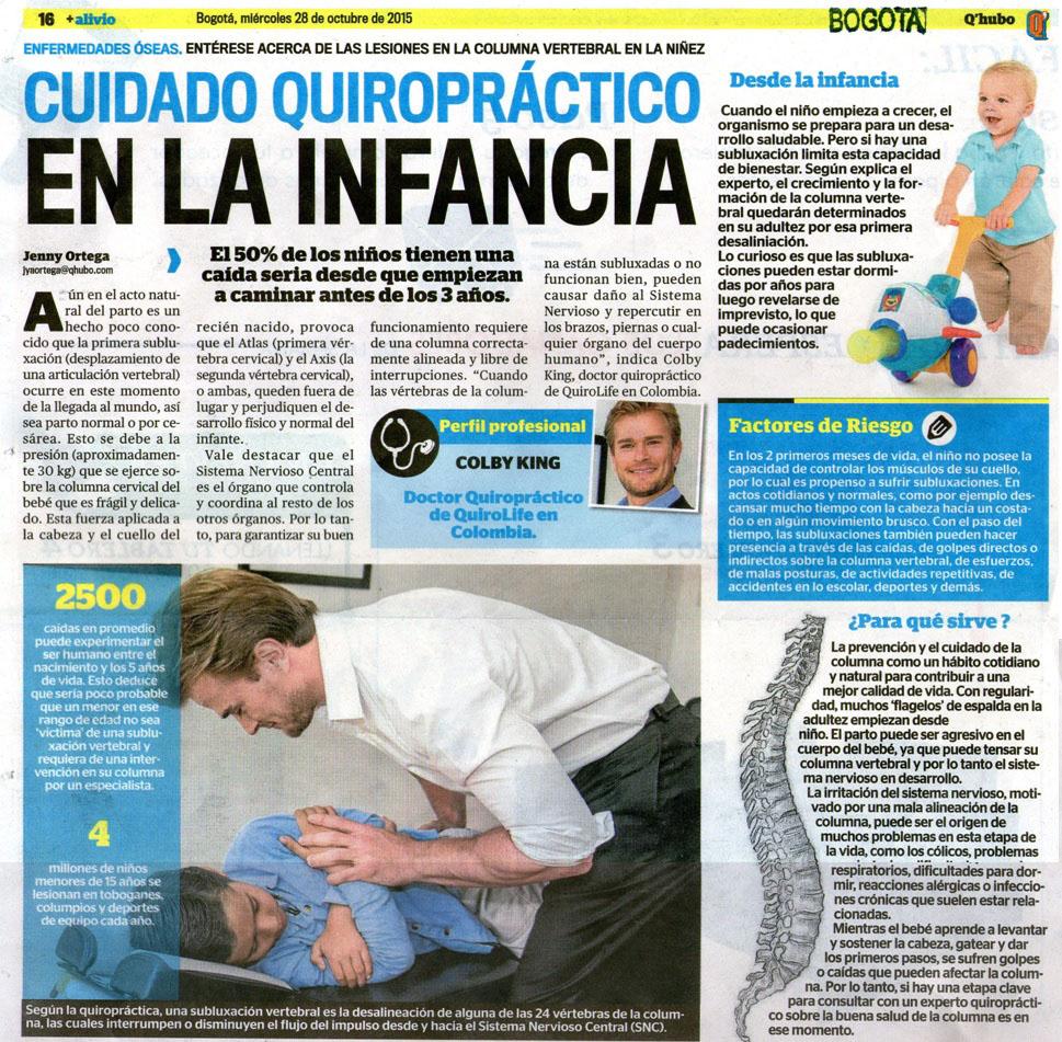 Q Hubo Prensa 28 de Octubre de 2015 [Bogotà – impreso]