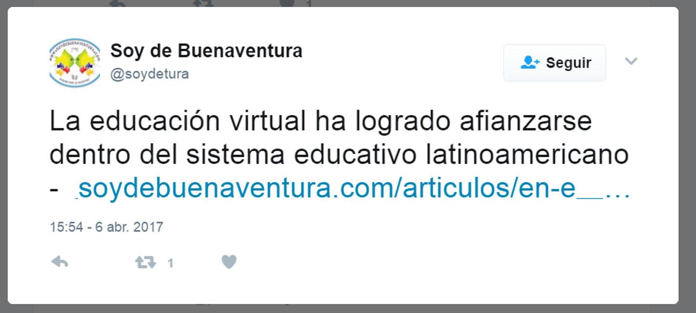 Soy de Buenaventura Twitter