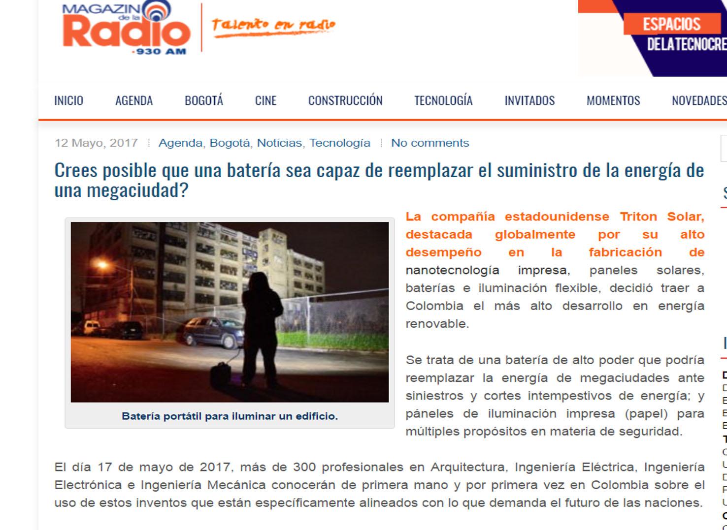 Todelar- Magazín de la Radio 12 de mayo