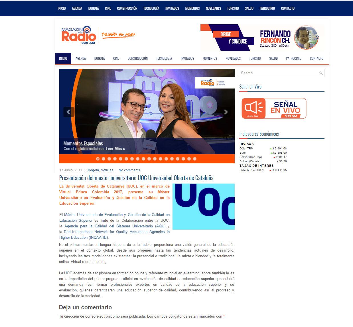 www.fernoticias.com 17 de Junio 2017