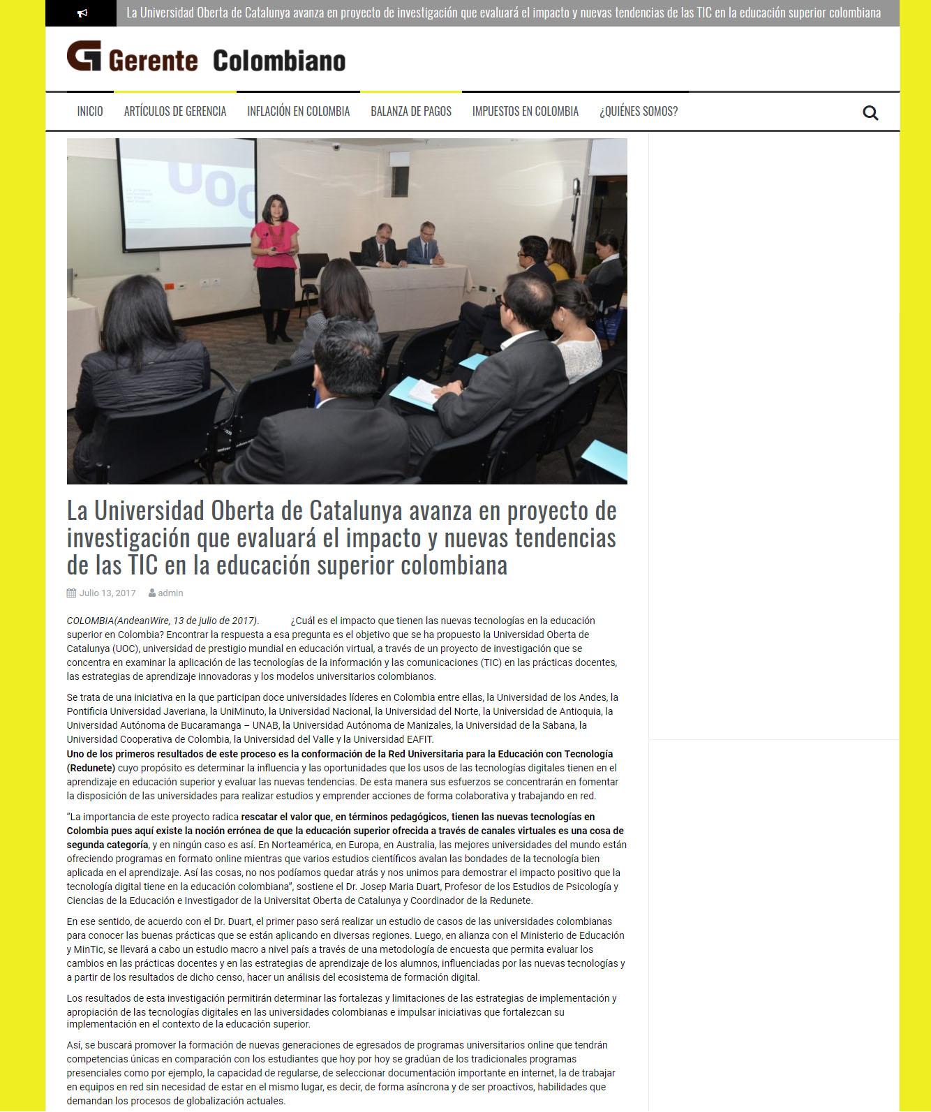 www.gerentecolombiano.com.co 14 de julio 2017