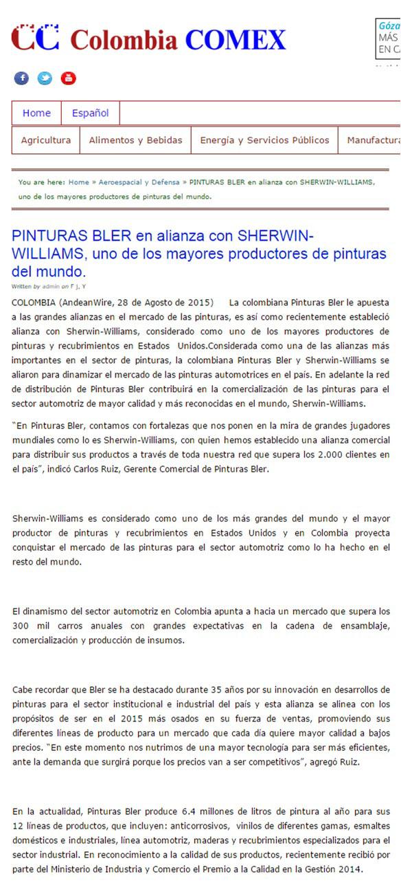 Colombia Comex 28 de agosto [web]