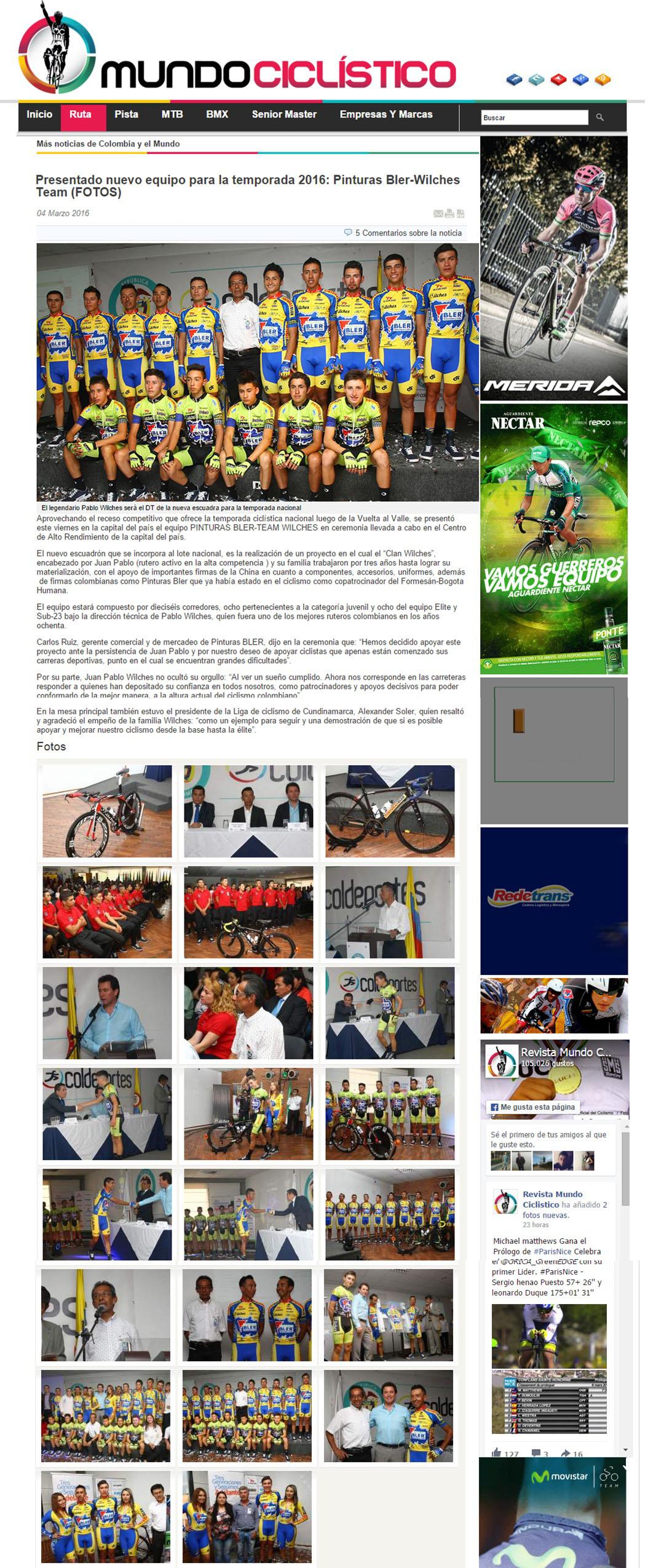 Mundo Ciclista 4 de Marzo 2015 [web]