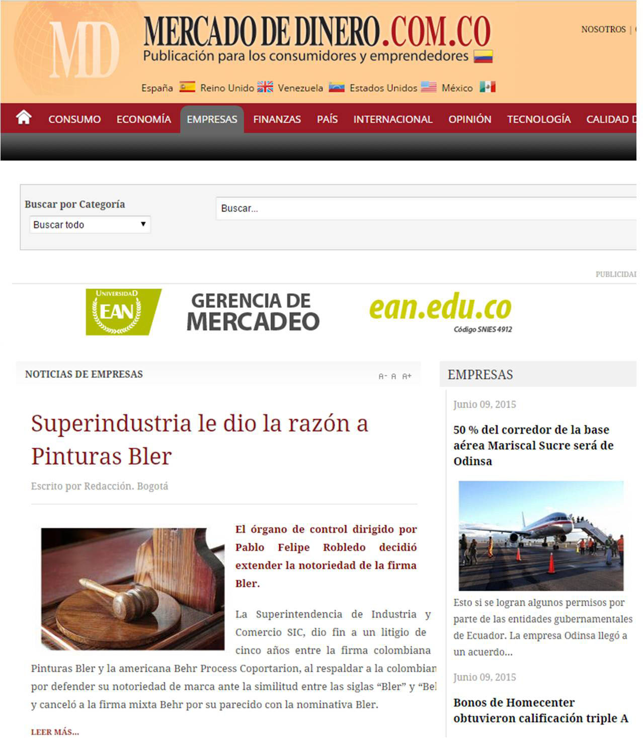 mercadodedinero.com 12 de Junio – Home