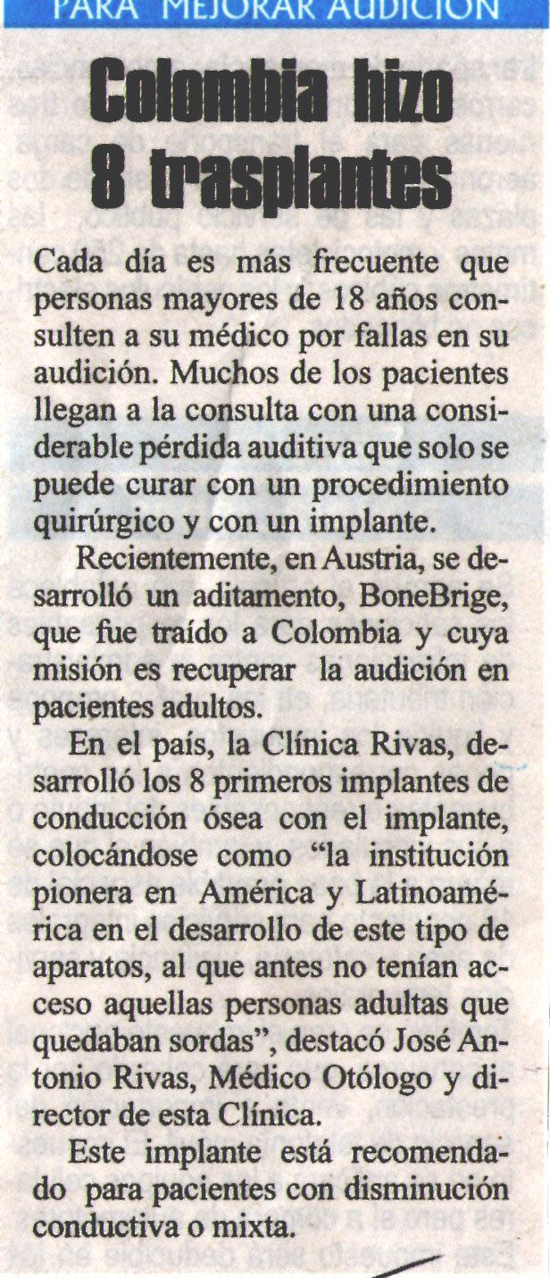 Clínica Rivas Espectador
