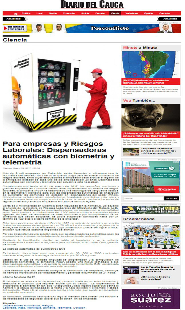 Diario del Cauca