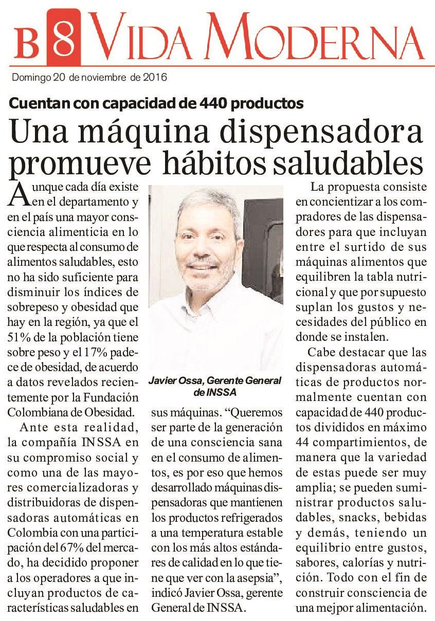 Diario del Cauca 20 de Noviembre de 2016 [impreso]