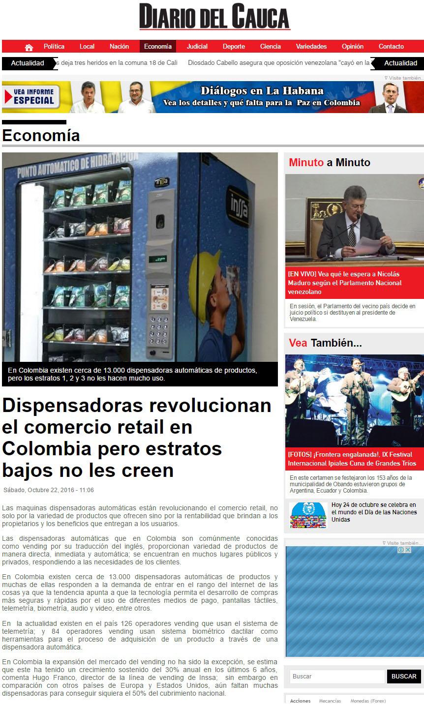 Diario del Cauca 22 de Octubre [web]