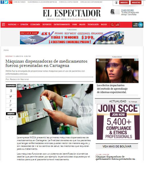 EL ESPECTADOR.COM 13 DE JUNIO DE 2016
