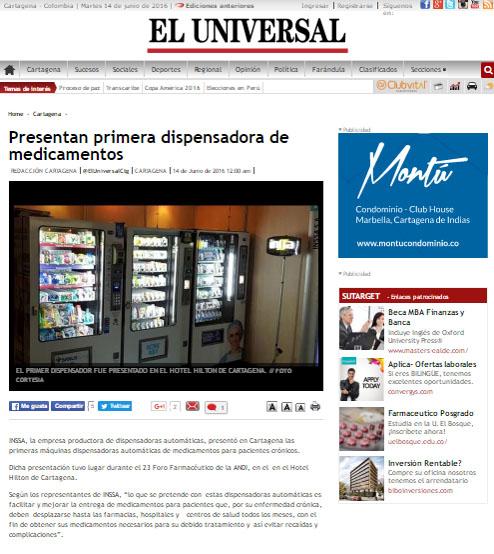 EL UNIVERSAL.COM 14 DE JUNIO DE 2016