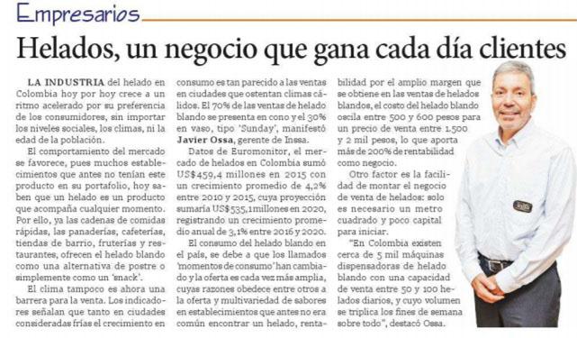 El Nuevo Siglo 10 de Diciembre de 2016 [Prensa]