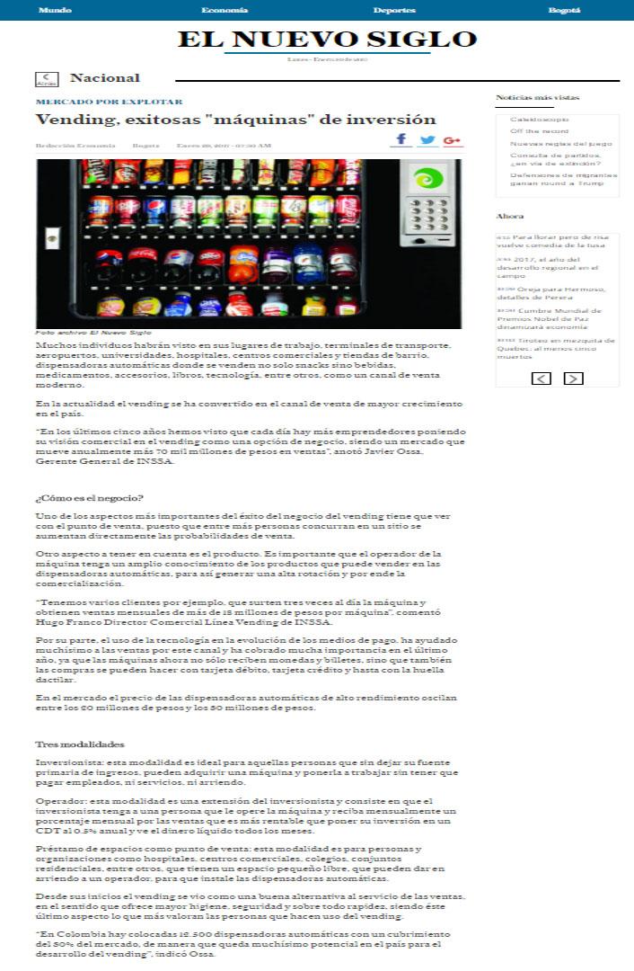 El Nuevo Siglo 29 de enero web
