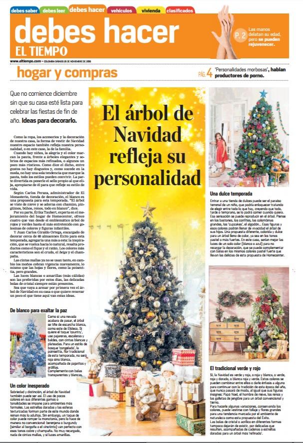 El Tiempo 26 de Noviembre de 2016 [prensa]