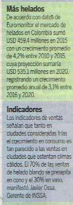 El Universal 13 de Diciembre de 2016 [Prensa]