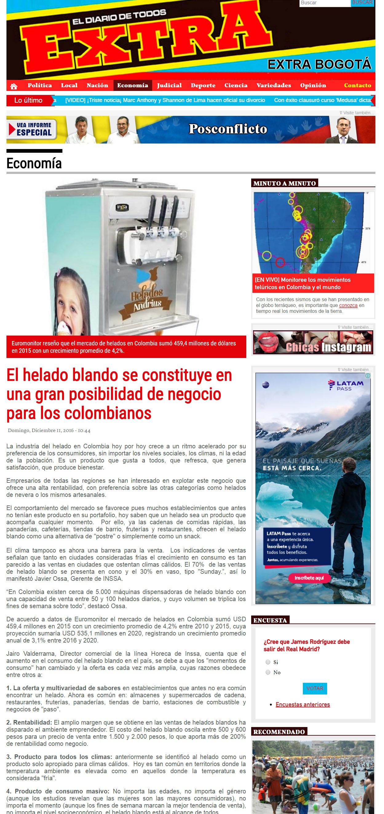 Extra 11 de Diciembre de 2016 [web]