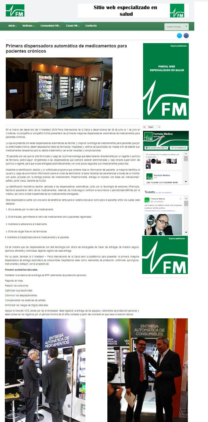 FORMULA MEDICA-29 JUNIO DE 2016-INSSA