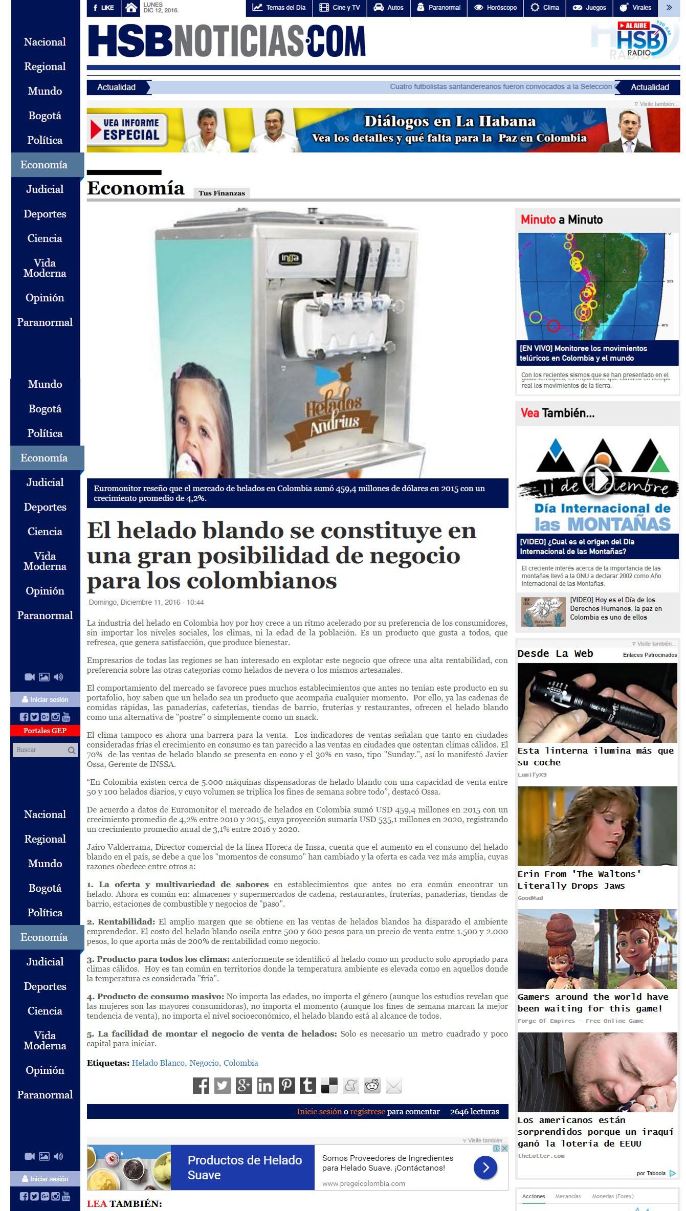 HSB Noticias 11 de Diciembre de 2016 [web]