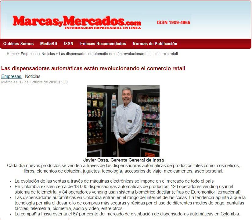 Marcas y Mercados, 14 de Octubre de 2016 [web]