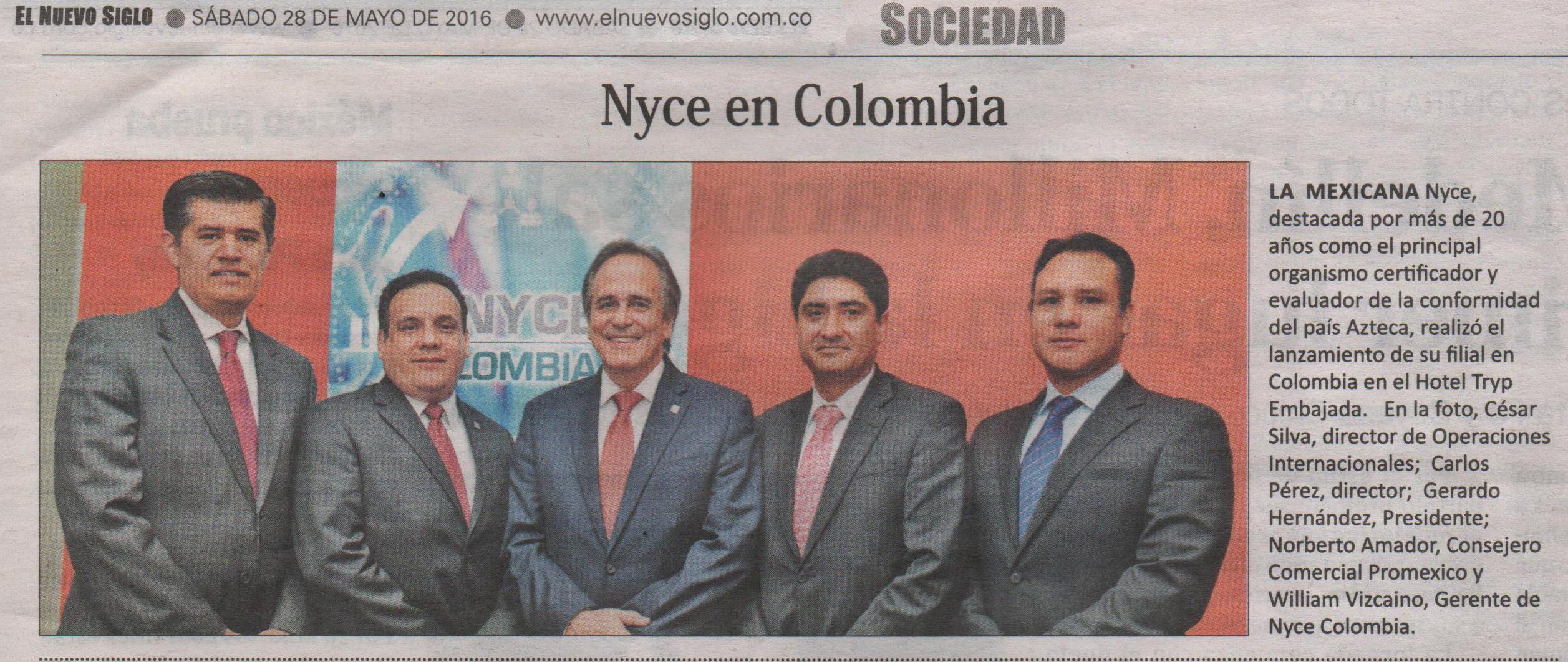 NYCE, El Nuevo Siglo