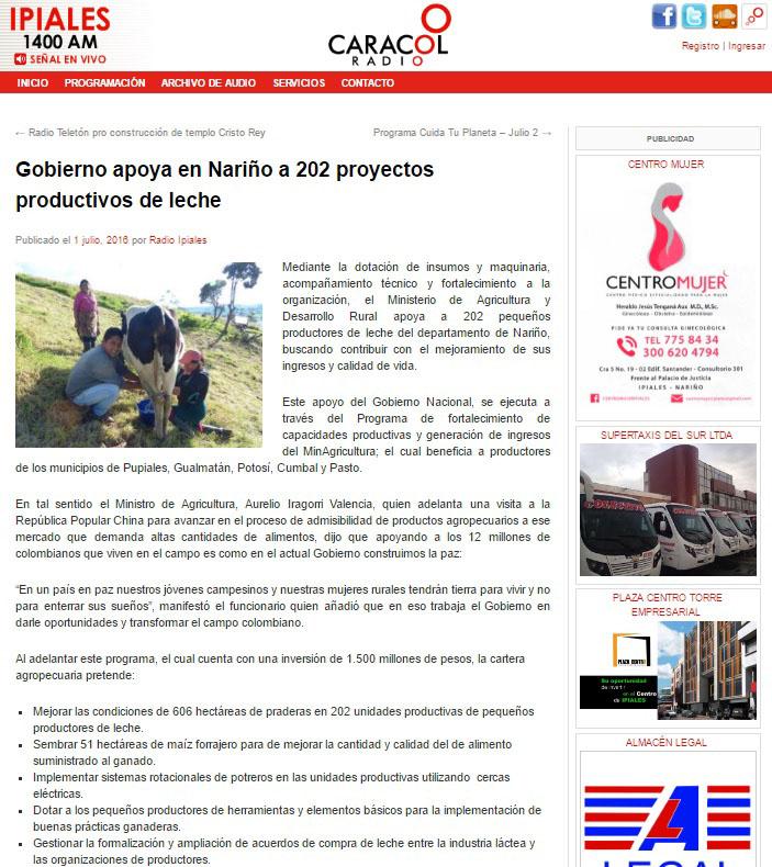 Nariño- Caracol Radio Ipiales