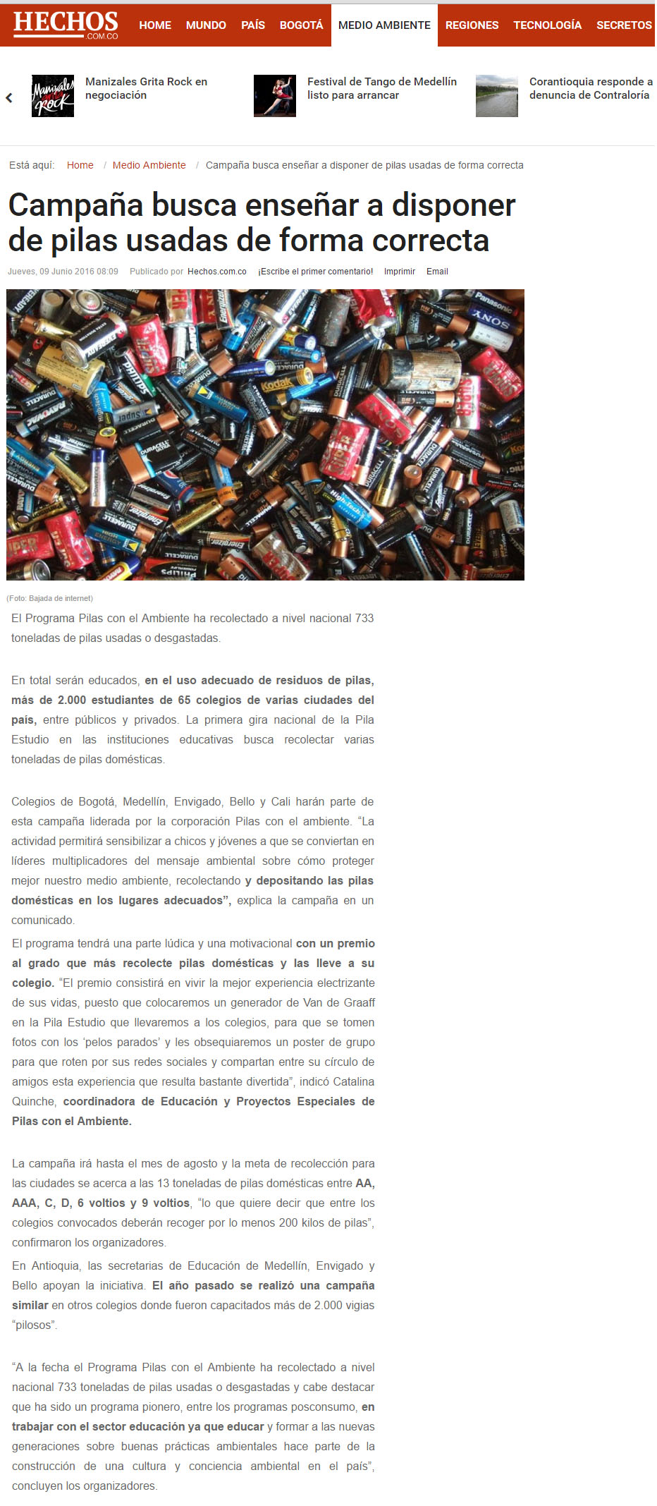 PILA ESTUDIO-Nota www.hechos.com.co 09-06-2016 [1]