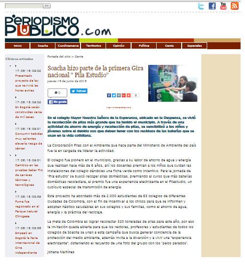 PILA ESTUDIO-periodismo público 16 de junio-medio ambiente.com