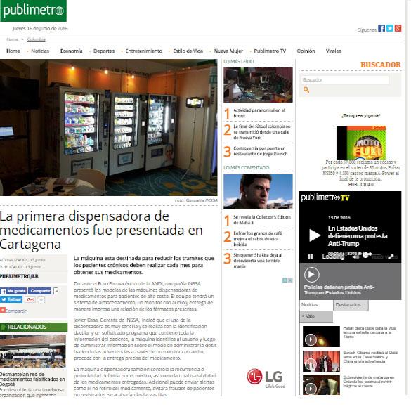 PUBLIMETRO.COM 13 DE JUNIO DE 2016