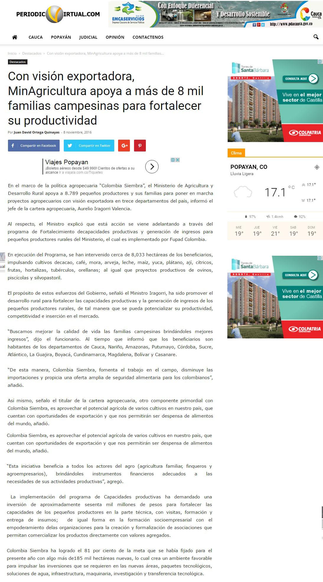 Periodico Virtual Cauca