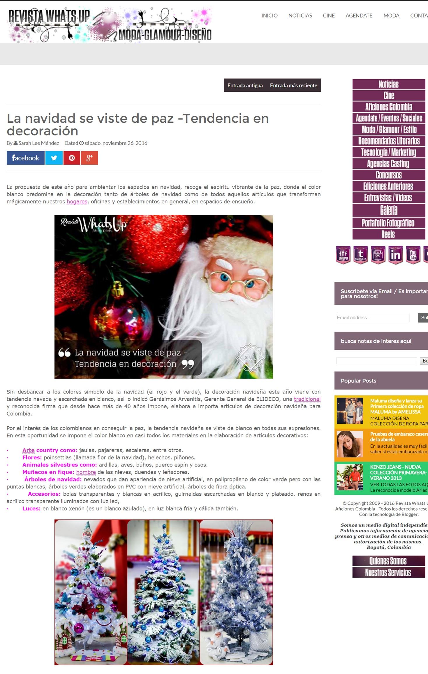 Revista Whats Up 26 de Noviembre de 2016 [web]