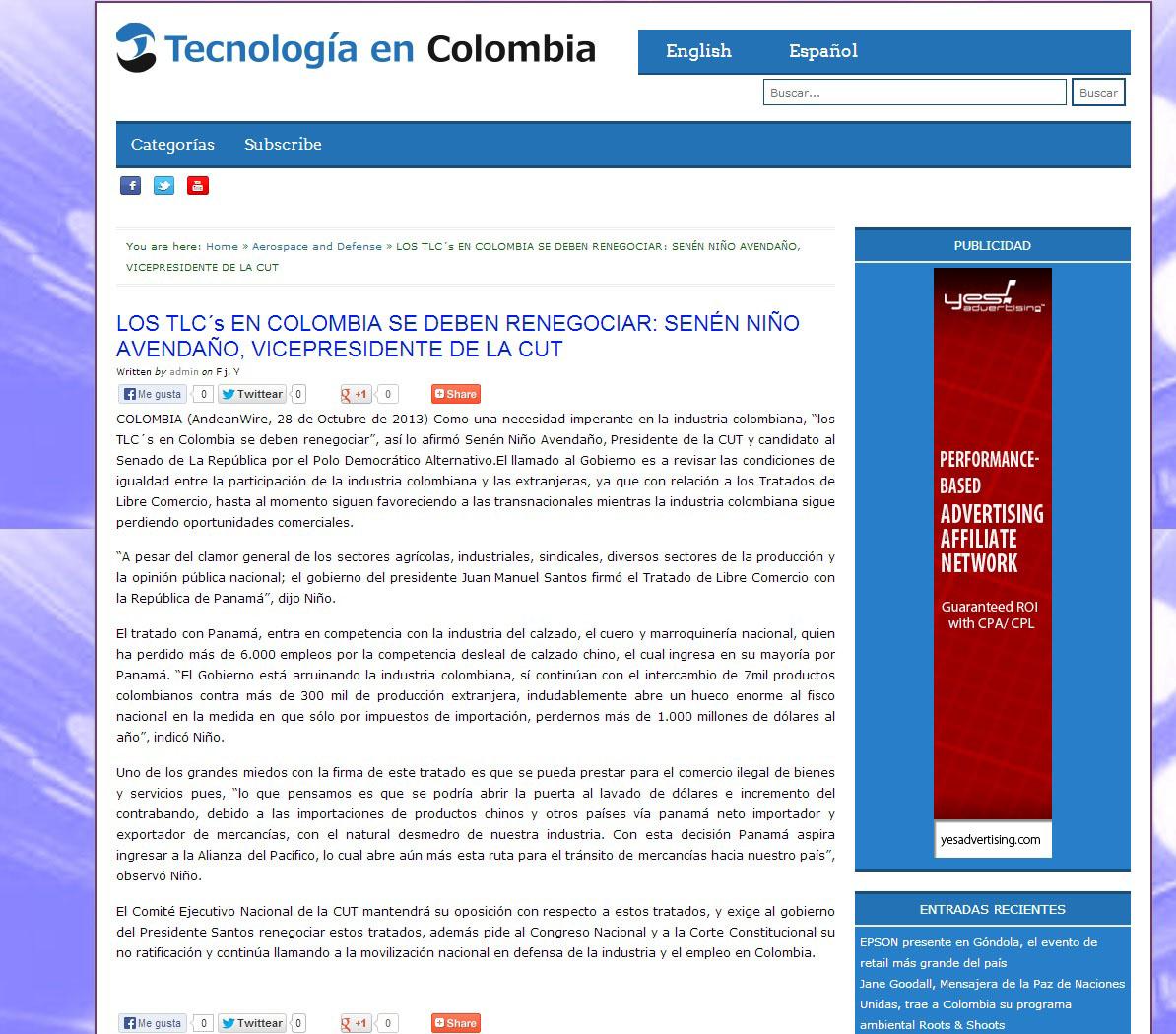 teconología encolombia.com Oct -Nov
